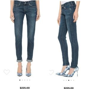 AG the Nikki relaxed skinny jeans size 28r